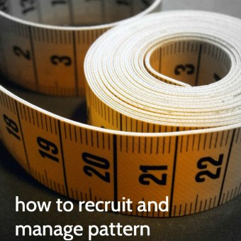 How to Recruit, Manage, and Get the Most Out of Pattern Testers