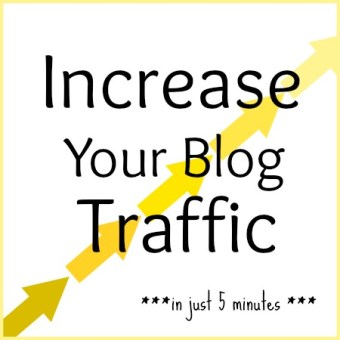 Radically Increase Your Blog Traffic in 5 Minutes