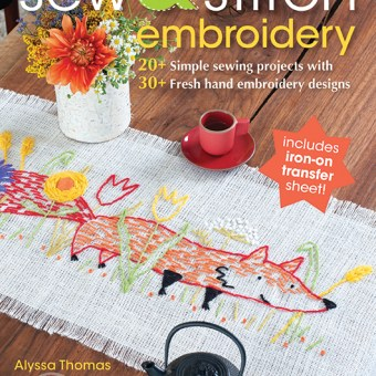 Book Review: Sew & Stitch Embroidery by Alyssa Thomas
