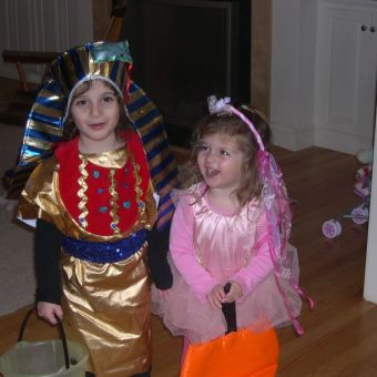 Making Halloween Costumes for Kids