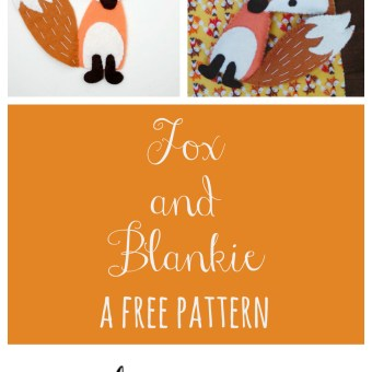 Free Pattern for Timeless Treasures: Fox & Blankie Play Set