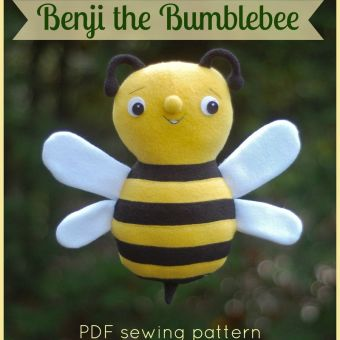 Bee Mine Sew-Along: Making Heart-Shaped Wings for Your Love Bug