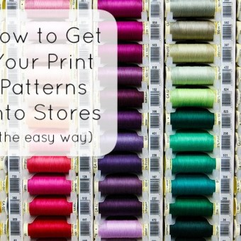 How to Get Your Print Patterns Into Stores (the Easy Way): Cut Loose Press