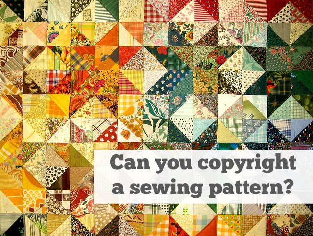 Can You Copyright a Sewing Pattern? - whileshenaps.com