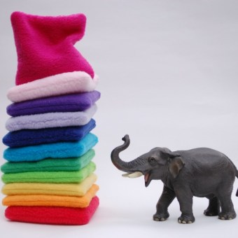 Rainbow Bean Bags How-To: Free Sewing Pattern