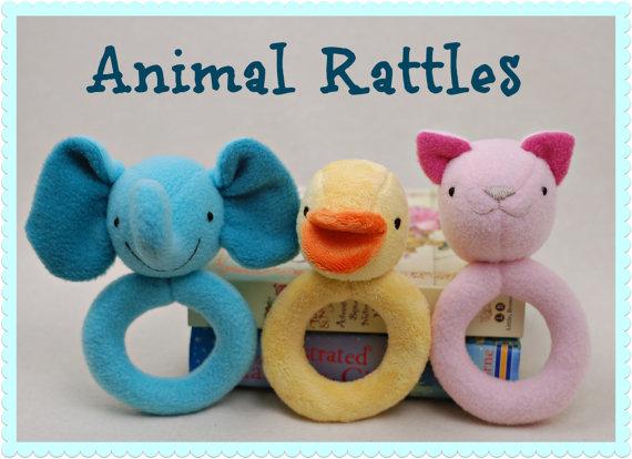 Animal Rattles