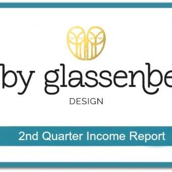 Abby Glassenberg Design 2nd Quarter Income Report