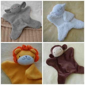 New Pattern: Lovey Dovey Mouse, Lamb, Lion, and Monkey