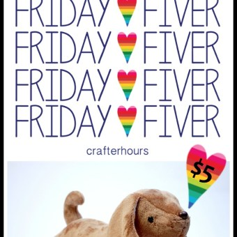 Darcy the Dachshund is the Friday Fiver Today!