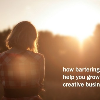 How Bartering Can Help You Grow Your Creative Business