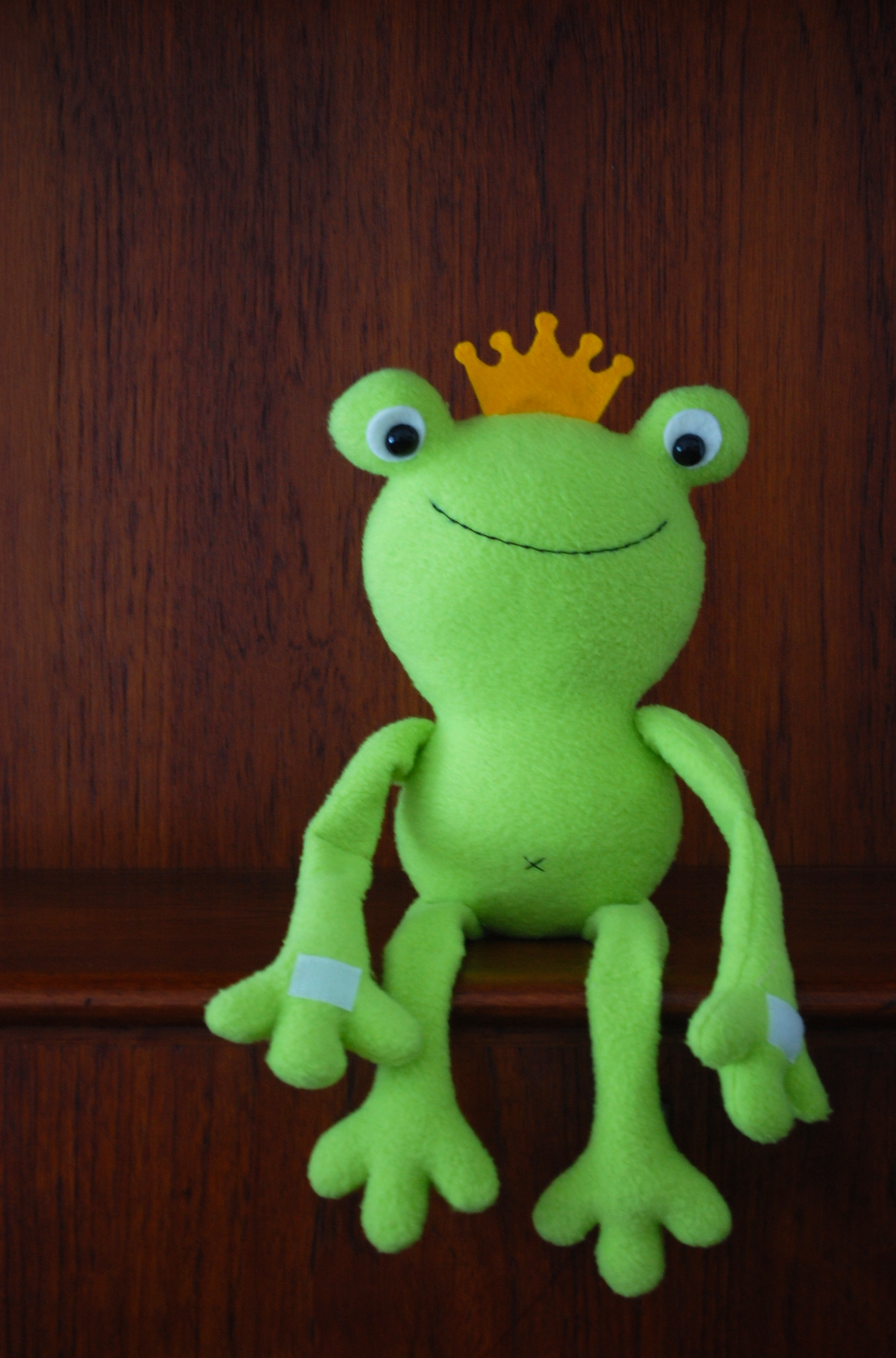 Free Pattern Ferdinand The Frog