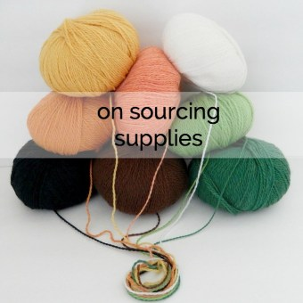 On Sourcing Supplies (and Sharing Sources)