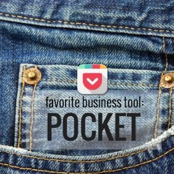 Favorite Business Tool: Pocket