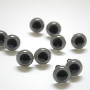 Gray 12mm Safety Eyes