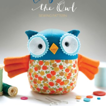 Introducing Harper the Owl: Print Pattern and Kit