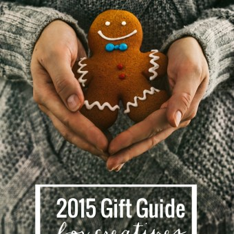 2015 Gift Guide for Creatives