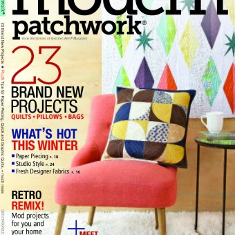 An Article in Modern Patchwork About Violet Craft