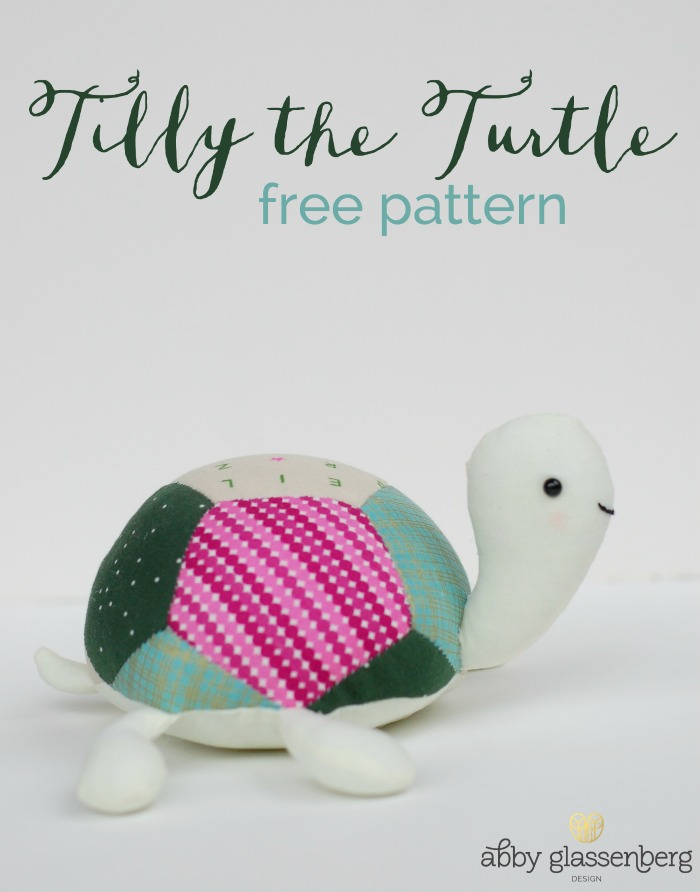 Free English Paper Piecing Pattern Tilly The Turtle Whileshenaps Com