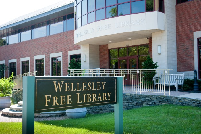 wellesley free library