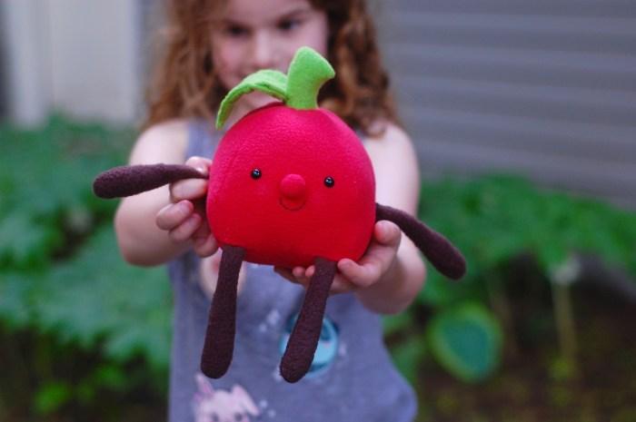 plush apple