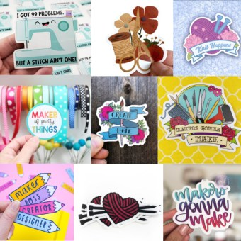 crafty vinyl stickers