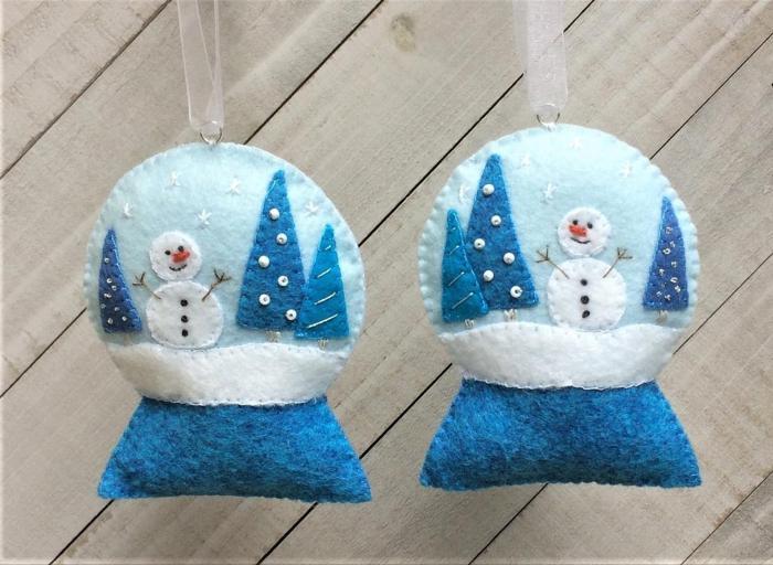 Snow Globe Felt kit
