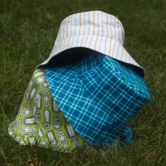 3 Reversible Bucket Hats for My Kids