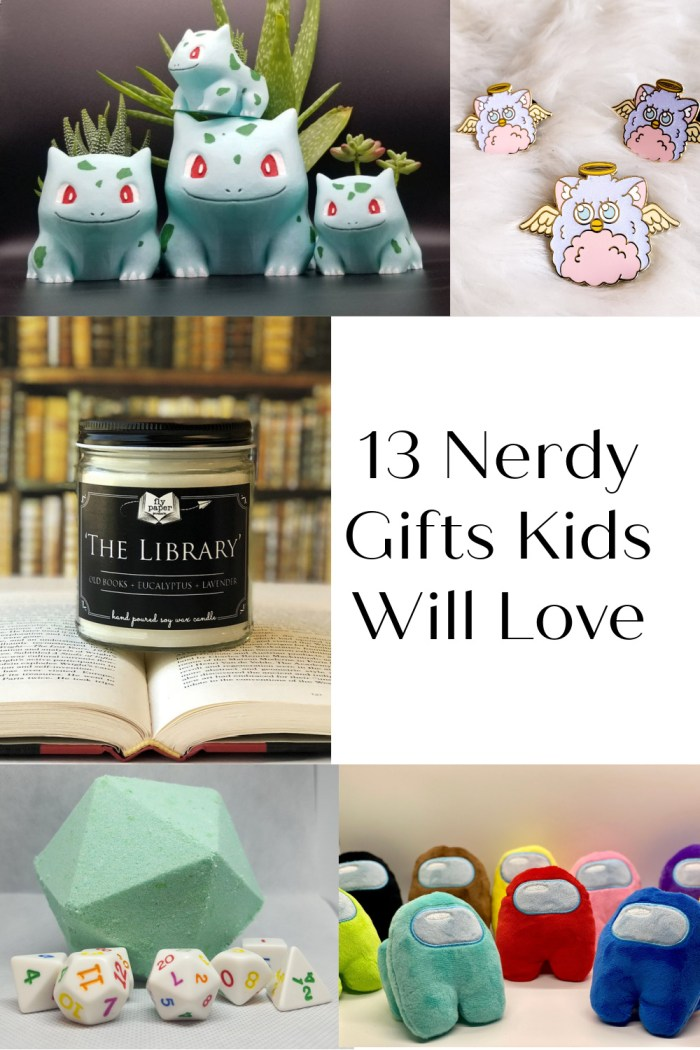 13 Nerdy Gifts Kids Will Love