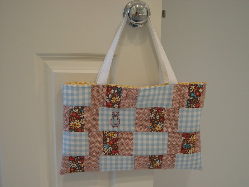 Patchwork Tote - whileshenaps com