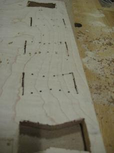 Connect the dots with a chisel.