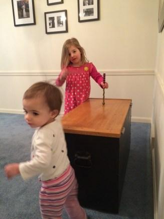 Little drummer girls