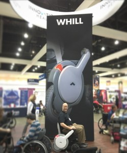 WHILL at the Bay Area Abilities Expo 2016