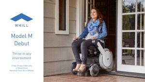WHILL Launches the Model M, a New Personal Electric Vehicle Redefining Mobility for Wheelchair Users