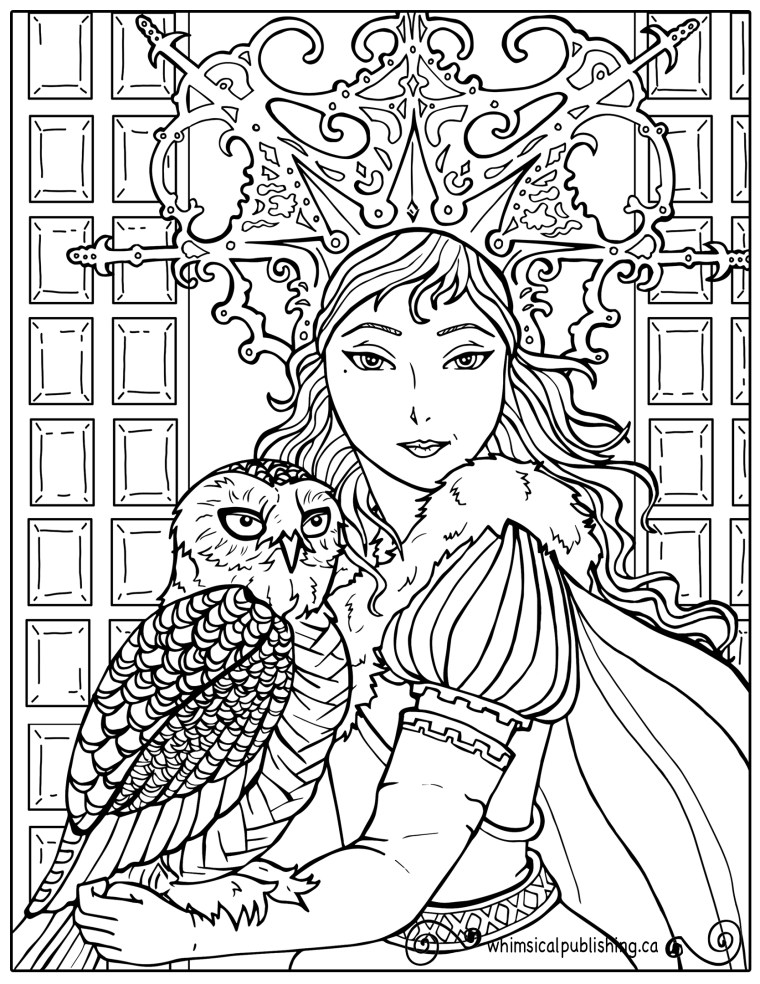 white coloring book pages - photo#42