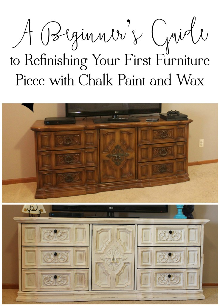 A Beginner's Guide to Refinishing Your First Furniture Piece with Chalk Paint and Wax