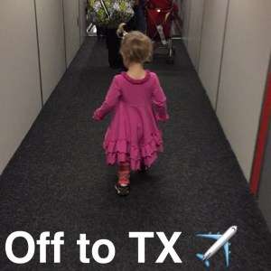 Our Trip to Austin + Tips for Flying with Babies/Kids