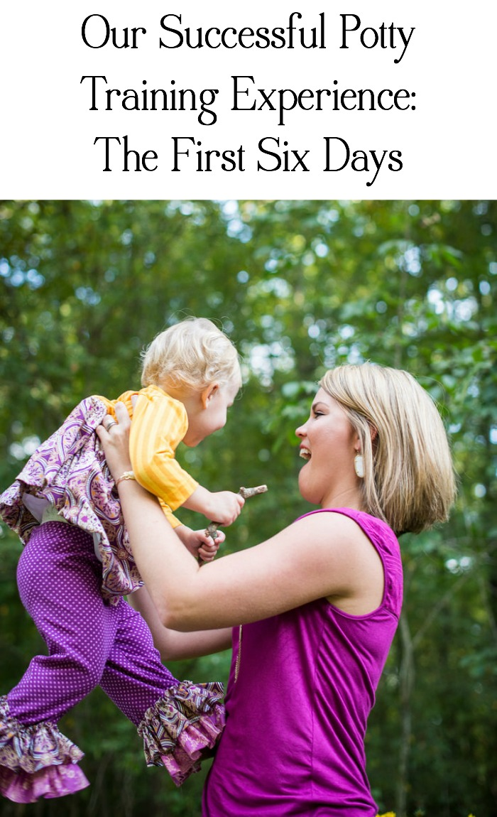 Our Potty Training Experience- The First Six Days