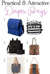 Practical & Attractive Diaper Bag Options