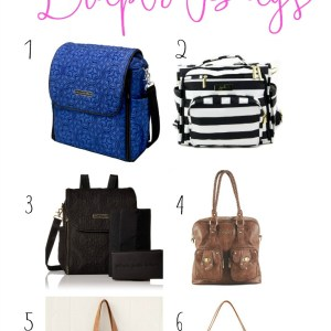 Practical & Attractive Diaper Bag Options