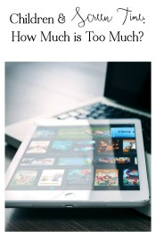 Children & Screen Time: How Much is Too Much?