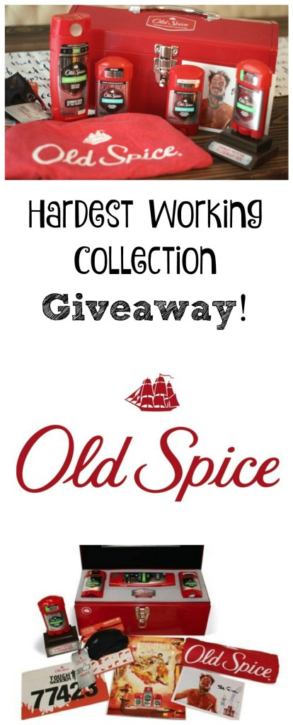 Win an Old Spice Hardest Working Collection Toolkit for a man in your life who deserves it! #Legendarysmell #ad