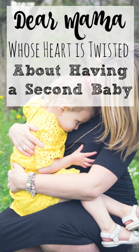 Having a second baby - To the mama reading this whose heart is currently twisted about soon going from parenting one kid to two, it really is true that you'll never have to split your love between your babies and...