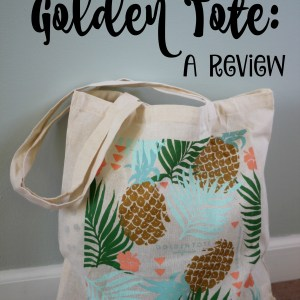 My First Golden Tote: A Review