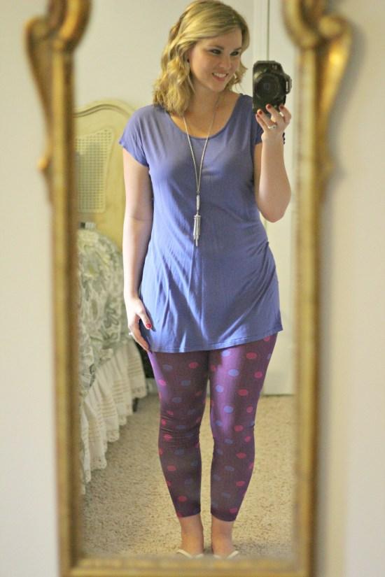 Whimsical September | One size LuLaRoe leggings