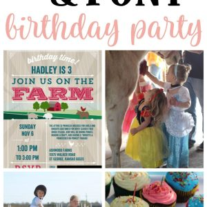 "Hadley's Highly Anticipated ""Horsey Party"" (a.k.a. Horse and Princess Birthday Party)"