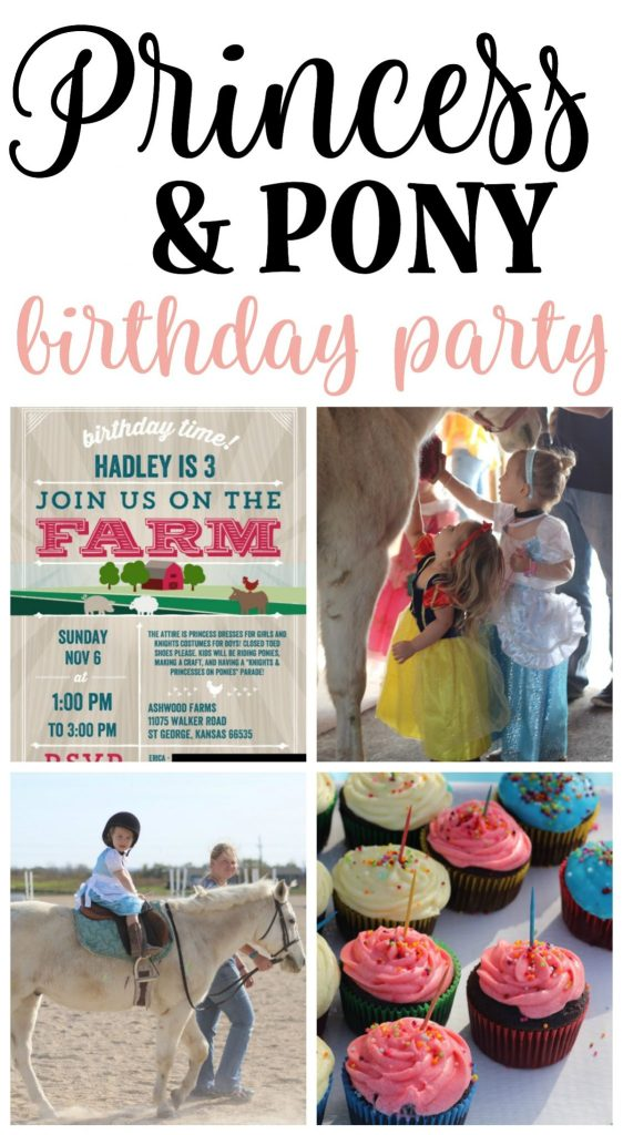 For Hadley's 3rd birthday, we threw her a horse and princess birthday party and she loved it so much. So did we! Princess dresses, ponies, pink cupcakes, paint, and precious, precious friends. These are the things that contributed to the happiest birthday party we could have ever imagined for Hadley, and it was easy!