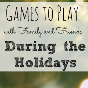 Games to Play After Dinner with Family & Friends