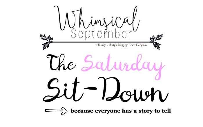 SATURDAY SITDOWN