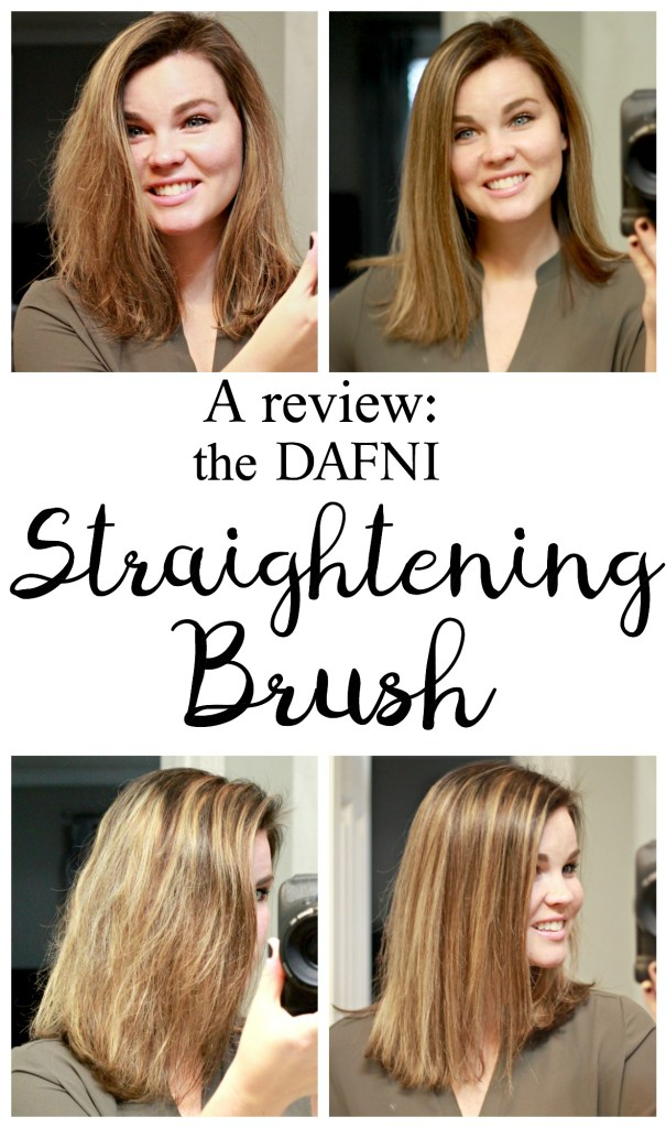 DAFNI Hair Straightening Brush:I wouldn't hesitate to recommend this brush to those interested in a new straightening hot tool that would save them time. While I wouldn't use this in place of my regular straightener 100% of this time,I will probably use it in place of regular straightener 90% of the time.