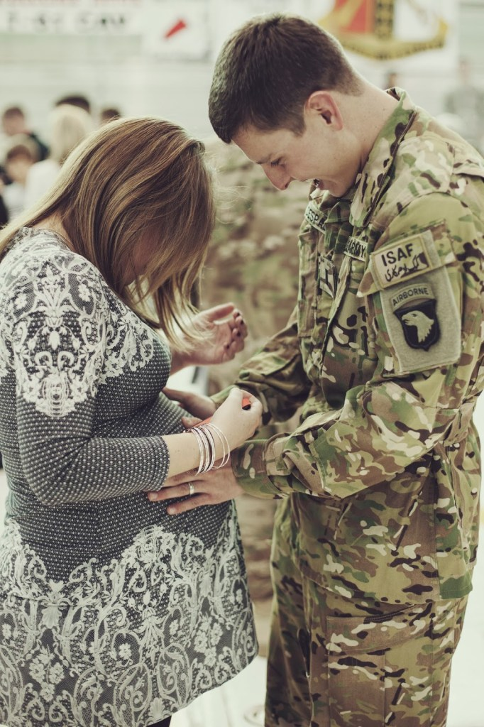 Family planning is difficult enough sometimes, but military deployments often throw very unwelcomed monkey wrench into the dilemma. Here are the pros and cons of walking through pregnancy while your husband is deployed.